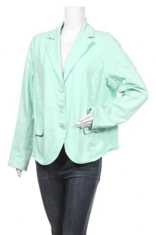 Дамско сако Z-One, Размер XL, Цвят Зелен, 95% памук, 5% еластан, Цена 5,80лв.