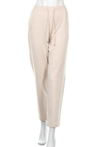 Γυναικείο αθλητικό παντελόνι Massimo Dutti, Μέγεθος XL, Χρώμα  Μπέζ, 43% μοντάλ, 37% βαμβάκι, 20% πολυαμίδη, Τιμή 22,72€