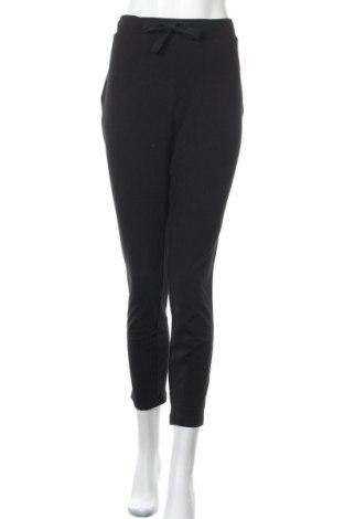 Γυναικείο αθλητικό παντελόνι Target, Μέγεθος L, Χρώμα Μαύρο, Βαμβάκι, ελαστάνη, Τιμή 29,88€