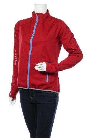 Дамско спортно горнище Shamp, Размер S, Цвят Червен, Полиестер, Цена 29,40лв.