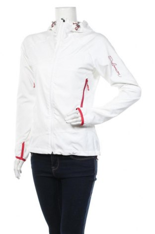 Дамско спортно яке Salomon, Размер S, Цвят Бял, 96% полиестер, 4% еластан, Цена 66,94лв.