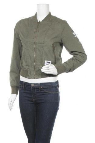 Дамско яке, Размер S, Цвят Зелен, Памук, Цена 9,98лв.