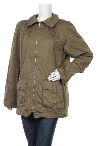 Дамско яке, Размер L, Цвят Зелен, Памук, Цена 11,29лв.