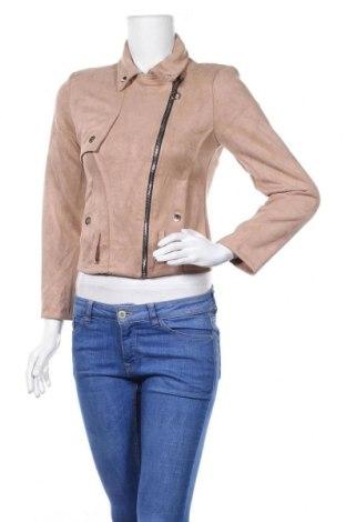 Дамско яке, Размер S, Цвят Бежов, 50% вискоза, 45% полиестер, 5% еластан, Цена 13,60лв.