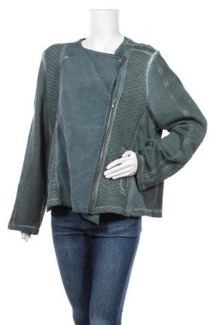 Дамско яке, Размер L, Цвят Зелен, Памук, Цена 19,99лв.