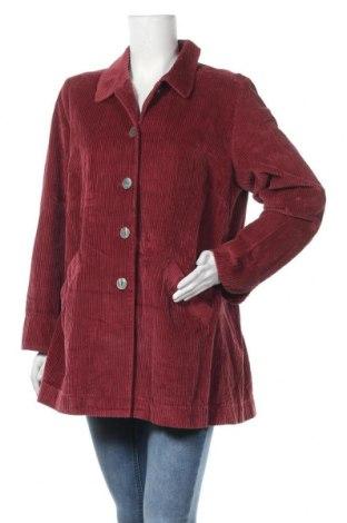 Γυναικείο μπουφάν J.Jill, Μέγεθος L, Χρώμα Κόκκινο, Βαμβάκι, Τιμή 10,46€