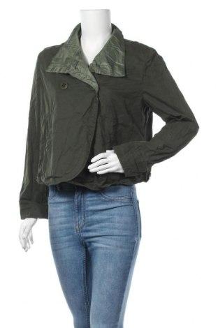 Дамско яке, Размер L, Цвят Зелен, 100% памук, Цена 33,92лв.