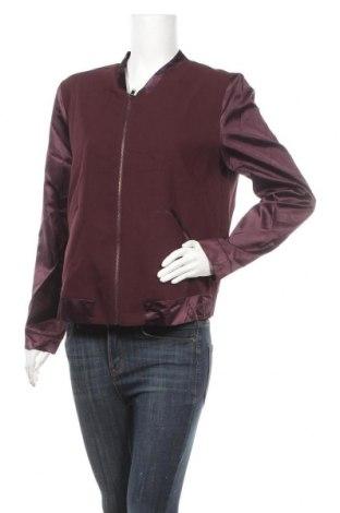 Дамско яке, Размер M, Цвят Лилав, 75% полиестер, 20% вискоза, 5% еластан, Цена 8,66лв.