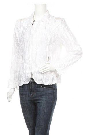 Дамско яке, Размер M, Цвят Бял, 60% полиестер, 40% вискоза, Цена 7,61лв.