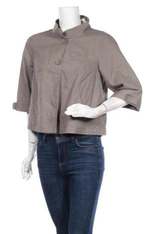 Дамско яке 3 Suisses Collection, Размер M, Цвят Кафяв, 55% лен, 45% памук, Цена 8,93лв.