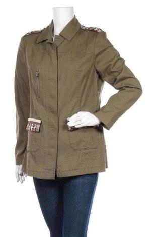Дамско яке Change, Размер L, Цвят Зелен, 97% памук, 3% еластан, Цена 21,32лв.