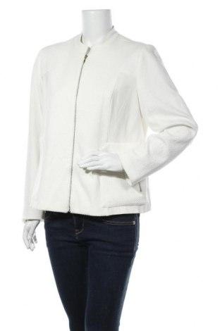 Дамско яке Chico's, Размер M, Цвят Бял, 65% полиестер, 32% вискоза, 3% еластан, Цена 16,80лв.