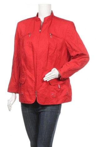 Дамско яке Gerry Weber, Размер XL, Цвят Червен, 51% памук, 42% полиамид, 7% метални нишки, Цена 30,03лв.