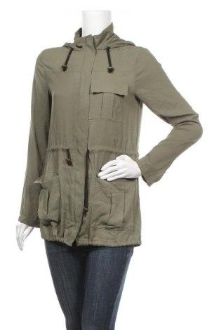 Дамско яке Guess, Размер S, Цвят Зелен, 100% полиестер, Цена 20,48лв.