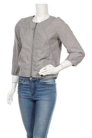 Дамско яке H&M, Размер S, Цвят Сив, 65% полиамид, 35% памук, Цена 18,55лв.