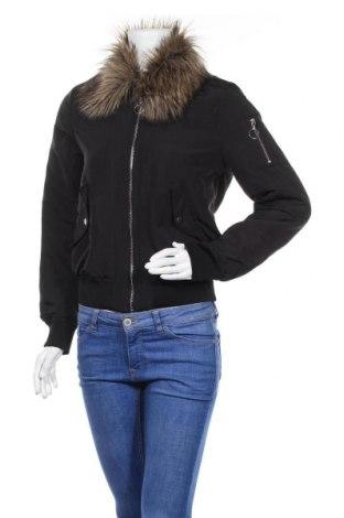 Дамско яке H&M Divided, Размер S, Цвят Черен, Полиестер, Цена 21,00лв.
