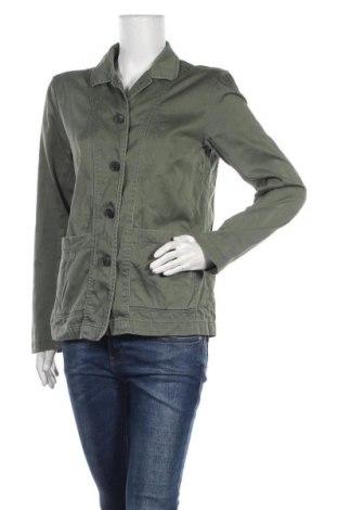 Дамско яке H&M L.O.G.G., Размер M, Цвят Зелен, Памук, Цена 8,93лв.