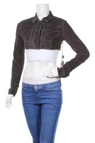 Γυναικείο μπουφάν Highway Jeans, Μέγεθος S, Χρώμα Καφέ, 98% βαμβάκι, 2% ελαστάνη, Τιμή 9,32€