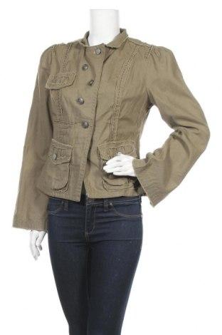 Дамско яке Jessica Simpson, Размер L, Цвят Зелен, 55% лен, 45% памук, Цена 9,19лв.