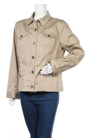 Дамско яке Jones New York, Размер XL, Цвят Бежов, 98% памук, 2% еластан, Цена 17,85лв.