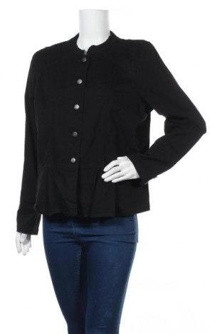 Дамско яке Katies, Размер XL, Цвят Черен, 98% памук, 2% еластан, Цена 36,91лв.