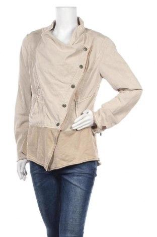 Дамско яке Khujo, Размер XL, Цвят Бежов, 56% лиосел, 44% памук, Цена 38,85лв.