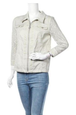 Дамско яке Laura Torelli, Размер M, Цвят Зелен, 98% памук, 2% еластан, Цена 8,93лв.