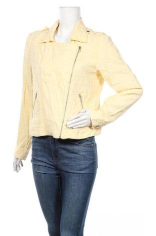 Дамско яке Maurices, Размер M, Цвят Жълт, 55% лен, 45% вискоза, Цена 20,79лв.