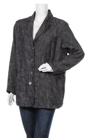 Дамско яке Maxi Blue, Размер XL, Цвят Сив, 51% памук, 47% полиестер, 2% еластан, Цена 7,61лв.