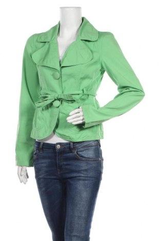 Дамско яке ONLY, Размер M, Цвят Зелен, Памук, Цена 10,66лв.