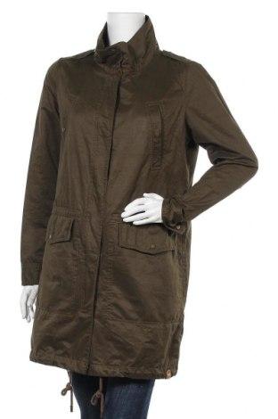 Дамско яке ONLY, Размер L, Цвят Зелен, 64% памук, 29% полиестер, 7% полиамид, Цена 16,91лв.