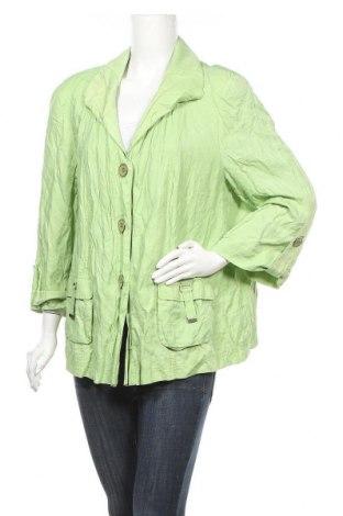 Дамско яке Samoon By Gerry Weber, Размер XL, Цвят Зелен, Цена 30,45лв.