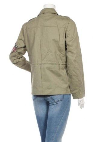 Дамско яке Vero Moda, Размер L, Цвят Зелен, Памук, Цена 48,76лв.