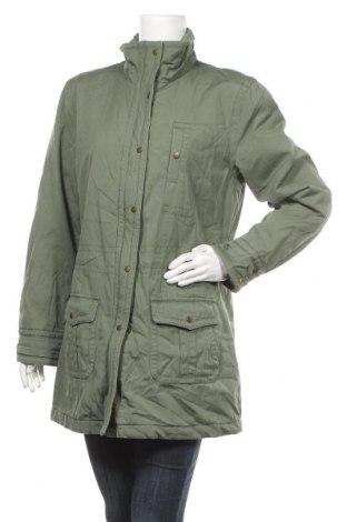 Дамско яке Women's Selection, Размер L, Цвят Зелен, Памук, Цена 17,61лв.