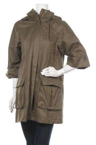 Дамско яке Zara, Размер S, Цвят Зелен, 65% полиестер, 35% памук, Цена 20,29лв.