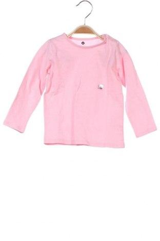 Παιδική μπλούζα Grain De Ble, Μέγεθος 12-18m/ 80-86 εκ., Χρώμα Ρόζ , Βαμβάκι, Τιμή 7,05€