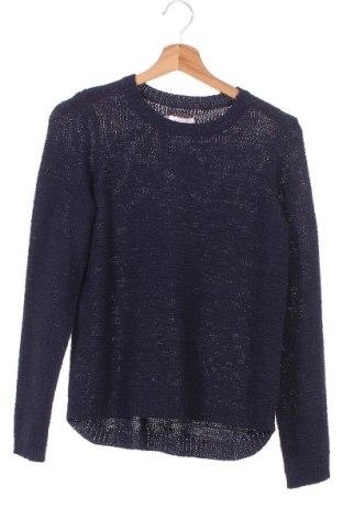 Детски пуловер Only Kids, Размер 12-13y/ 158-164 см, Цвят Син, 65% акрил, 35% полиамид, Цена 36,75лв.