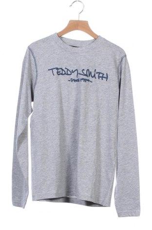 Παιδική μπλούζα Teddy Smith, Μέγεθος 12-13y/ 158-164 εκ., Χρώμα Γκρί, 90% βαμβάκι, 10% βισκόζη, Τιμή 7,58€