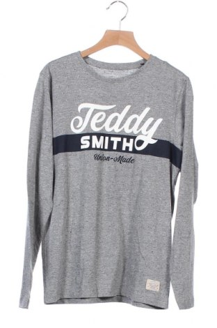Παιδική μπλούζα Teddy Smith, Μέγεθος 12-13y/ 158-164 εκ., Χρώμα Γκρί, 75% βαμβάκι, 25% βισκόζη, Τιμή 7,58€