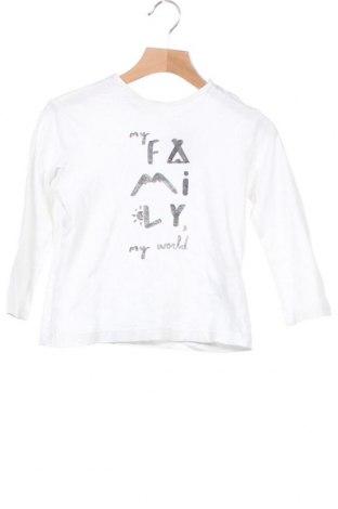 Παιδική μπλούζα Zara, Μέγεθος 3-4y/ 104-110 εκ., Χρώμα Λευκό, Βαμβάκι, Τιμή 10,67€