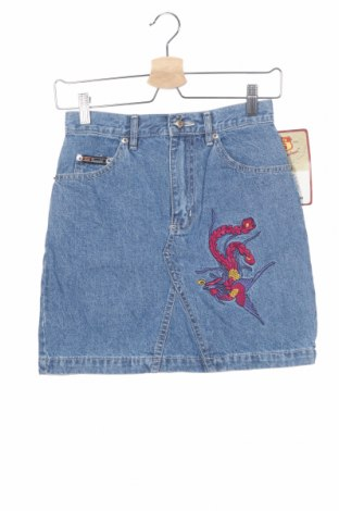 Παιδική φούστα Route 66, Μέγεθος 11-12y/ 152-158 εκ., Χρώμα Μπλέ, Βαμβάκι, Τιμή 10,00€
