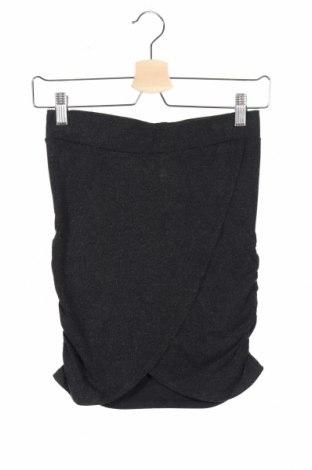 Παιδική φούστα The New, Μέγεθος 11-12y/ 152-158 εκ., Χρώμα Μαύρο, 60% βισκόζη, 30% πολυεστέρας, 10% ελαστάνη, Τιμή 1,59€