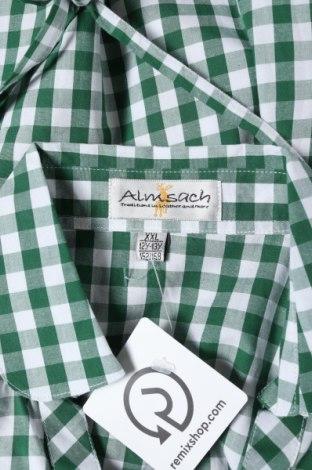 Παιδικό πουκάμισο Almsach, Μέγεθος 11-12y/ 152-158 εκ., Χρώμα Πράσινο, Βαμβάκι, Τιμή 5,26€