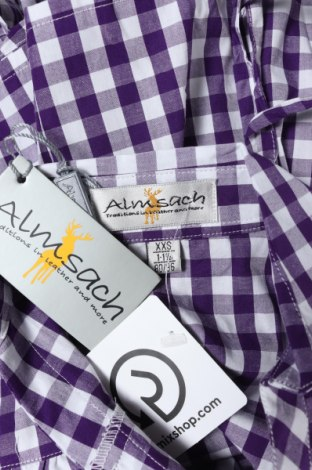 Παιδικό πουκάμισο Almsach, Μέγεθος 12-18m/ 80-86 εκ., Χρώμα Βιολετί, Βαμβάκι, Τιμή 6,12€