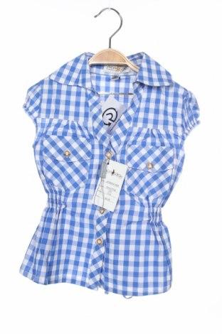 Παιδικό πουκάμισο Almsach, Μέγεθος 12-18m/ 80-86 εκ., Χρώμα Μπλέ, Βαμβάκι, Τιμή 6,12€