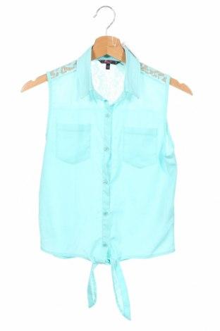 Παιδικό πουκάμισο Cool Cat, Μέγεθος 12-13y/ 158-164 εκ., Χρώμα Μπλέ, Πολυεστέρας, Τιμή 7,79€