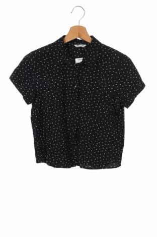 Παιδικό πουκάμισο Cubus, Μέγεθος 10-11y/ 146-152 εκ., Χρώμα Μαύρο, Βισκόζη, Τιμή 3,86€