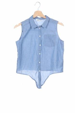 Παιδικό πουκάμισο H&M, Μέγεθος 14-15y/ 168-170 εκ., Χρώμα Μπλέ, Βαμβάκι, Τιμή 2,95€