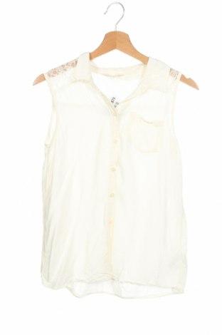 Dětská košile  H&M, Velikost 13-14y/ 164-168 cm, Barva Krémová, Viskóza, Cena  68,00Kč