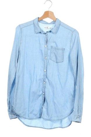 Dětská košile  H&M L.O.G.G., Velikost 14-15y/ 168-170 cm, Barva Modrá, Lyocell, Cena  88,00Kč